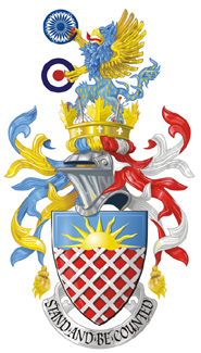 The Arms of Chas Charles-Dunne