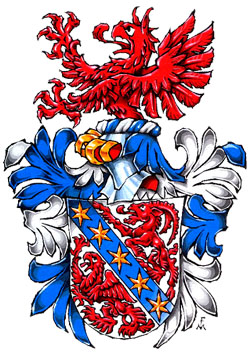 The Arms of Professor  Ruben Duarte de Freitas Cabral