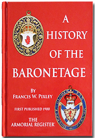 A History of The Baronetage