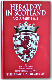 Heraldry In Scotland Volumes 1 and  2 - cover